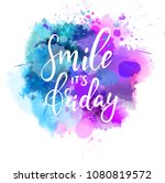 watercolor imitation paint...   Shutterstock .eps vector #1080819572