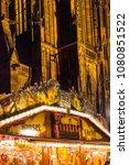 strasbourg  france   december... | Shutterstock . vector #1080851522
