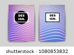 light multicolor vector cover...