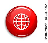globe sign round vector web... | Shutterstock .eps vector #1080874565