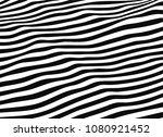 stripes distortion background.... | Shutterstock .eps vector #1080921452