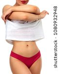 hot woman with lovely body... | Shutterstock . vector #1080932948