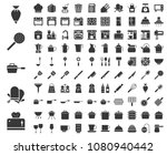 kitchen utensils  bakery...   Shutterstock .eps vector #1080940442