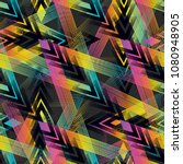 abstract geometric seamless...   Shutterstock .eps vector #1080948905