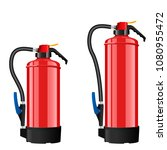 fire extinguisher   vector... | Shutterstock .eps vector #1080955472