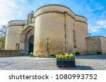 the nottingham castle  england  | Shutterstock . vector #1080993752