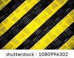 Warning Sign Yellow And Black...