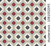 simple floor tile pattern ... | Shutterstock .eps vector #1081002095