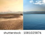 global warming and climate...   Shutterstock . vector #1081025876