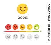 feedback concept with emoji...