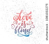 vector illustration of love is... | Shutterstock .eps vector #1081032275