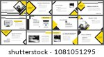 yellow element for slide...