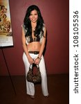 rebeca linares  at the preview... | Shutterstock . vector #108105536