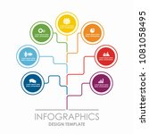 infographic template. vector... | Shutterstock .eps vector #1081058495