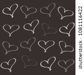 background of hearts | Shutterstock . vector #1081116422