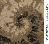 tie dye pattern. spiral hand... | Shutterstock . vector #1081121348