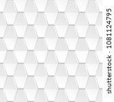 decorative white geometric... | Shutterstock .eps vector #1081124795