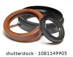 oil seal on a white background... | Shutterstock . vector #1081149905