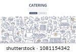 doodle vector illustration of... | Shutterstock .eps vector #1081154342