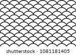 semi circle vector pattern....   Shutterstock .eps vector #1081181405