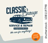 vintage clip art   classic... | Shutterstock .eps vector #108119798