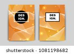 light orange vector template...