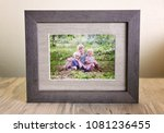 a tabletop display of a rustic... | Shutterstock . vector #1081236455