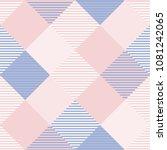seamless tartan plaid pattern...   Shutterstock .eps vector #1081242065