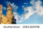 bell tower of the cathedral of... | Shutterstock . vector #1081260548