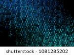 dark blue vector abstract... | Shutterstock .eps vector #1081285202