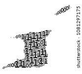 trinidad and tobago map... | Shutterstock .eps vector #1081297175