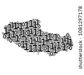 tibet chinese territory map... | Shutterstock .eps vector #1081297178