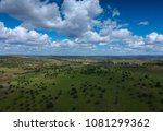 aerial view over the... | Shutterstock . vector #1081299362