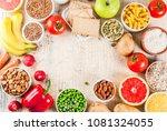 diet food background concept ... | Shutterstock . vector #1081324055