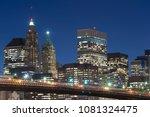 close up  brooklyn bridge and... | Shutterstock . vector #1081324475