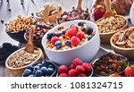 composition with different... | Shutterstock . vector #1081324715