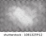 wave halftone engraving black... | Shutterstock . vector #1081325912