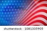 independence day abstract... | Shutterstock .eps vector #1081335905