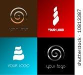 vector snail logos | Shutterstock .eps vector #10813387