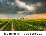 Landscape   Storm Clouds At...