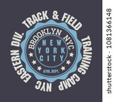 t shirt stamp graphics  new... | Shutterstock .eps vector #1081366148