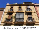 seville  andalusia  spain  ... | Shutterstock . vector #1081372262