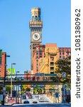 baltimore  maryland  usa  ... | Shutterstock . vector #1081380962