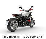 base white modern powerful... | Shutterstock . vector #1081384145