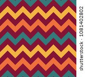 retro chevron seamless pattern  ...   Shutterstock .eps vector #1081402802