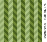 green three dimensional chevron ... | Shutterstock .eps vector #1081407776