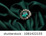 green emerald fashion... | Shutterstock . vector #1081422155