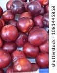 fruit wallpaper  pile of fruit   Shutterstock . vector #1081445858