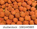 fruit wallpaper  pile of fruit   Shutterstock . vector #1081445885