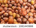 fruit wallpaper  pile of fruit   Shutterstock . vector #1081445888